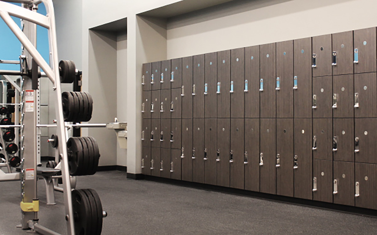 Phenolic Lockers For Gym