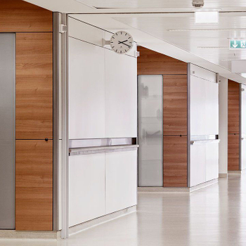 Why Most Hospitals Choose HPL Wall Cladding