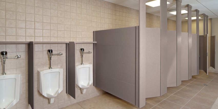 Medical HPL Bathroom Partitions