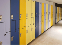 Brikley Phenolic Lockers For The Public Places